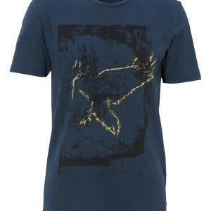 Only & Sons Norden Frontprint Tee Dress Blues
