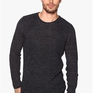 Only & Sons Sato crew neck Dark grey melange