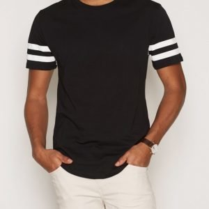 Only & Sons onsALEXANDER Longy O-Neck Exp T-paita Musta