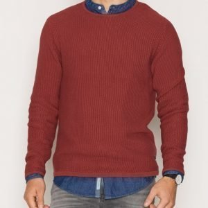 Only & Sons onsDAN Crew Neck Knit Noos Pusero Punainen