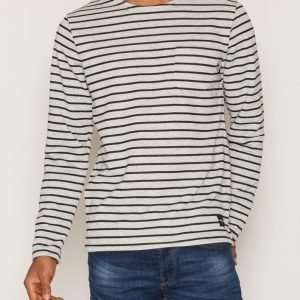 Only & Sons onsPALLY Ls Fitted Crew Neck Noos Pusero Harmaa