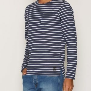 Only & Sons onsPALLY Ls Fitted Crew Neck Noos Pusero Tummansininen