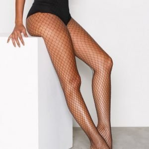 Oroblu Fishnet Tights Sukkahousut Musta