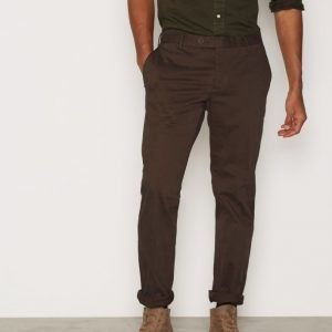 Oscar Jacobson Dean Trousers Housut Brown