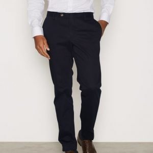 Oscar Jacobson Dean Trousers Housut Dark Blue