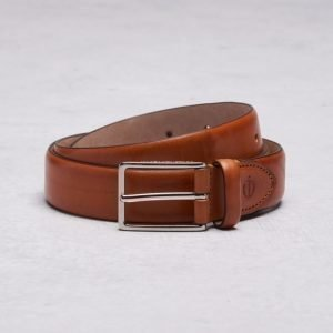 Oscar Jacobson OJ 15577 Belt 0046 Mid Brown