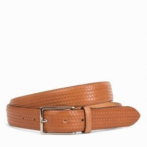 Oscar Jacobson OJ Belt Male Vyö Cognac