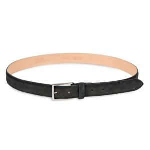 Oscar Jacobson OJ Suede Belt Black