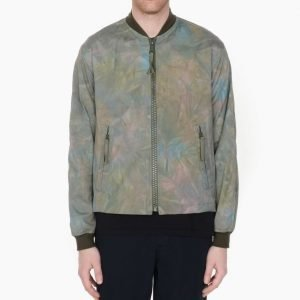 Our Legacy Force Bomber Olive Tie Dye
