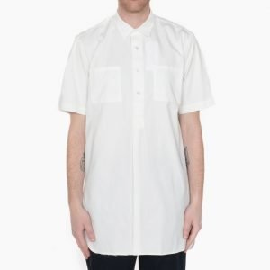 Our Legacy Popover SSL Shirt Coat White Twill