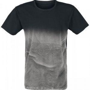 Outer Vision Calipo Spray Black T-paita