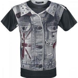 Outer Vision Rock Vest T-paita
