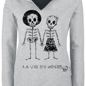 Outer Vision Skeleton Lovers Naisten Huppari