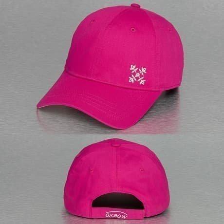 Oxbow Snapback Lippis Vaaleanpunainen