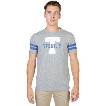 Oxford University TRINITY-STRIPED-MM lyhythihainen t-paita