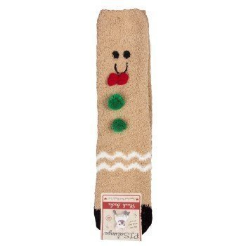 PJ Salvage Fun Socks Gingerbread