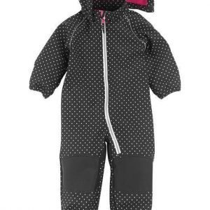 PLAYTECH by Name it Soft shell-haalarit Alfa mini Musta Pilkullinen
