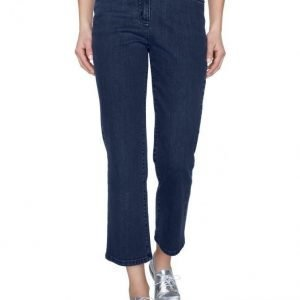 Paola 7/8 Housut Blue Denim