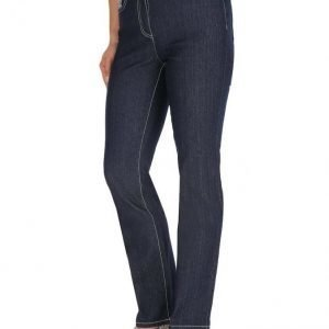 Paola Housut Dark Blue Denim