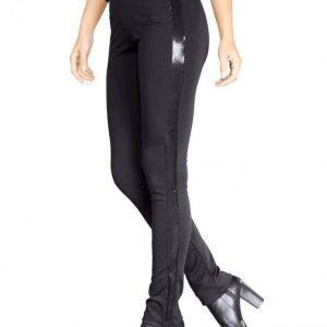 Paola Jerseyhousut Musta