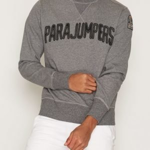 Parajumpers Caleb Cotton Fleece Pusero Grey Melange