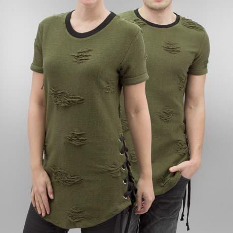 Paris Premium T-paita Oliivi