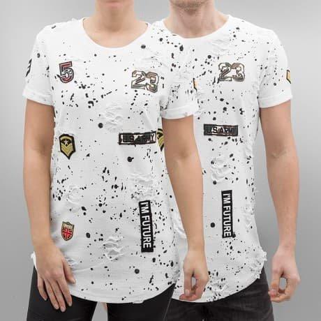 Paris Premium T-paita Valkoinen