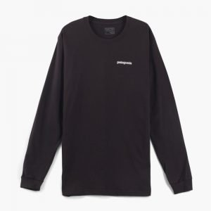 Patagonia P-6 Logo Cotton Long Sleeve Tee