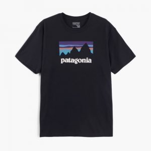 Patagonia Shop Sticker Cotton Tee