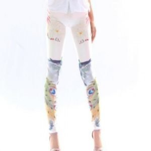 Peacock Feathers Leggings tights