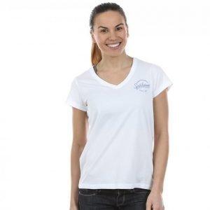 Peak Performance Shell V-Neck T-paita Valkoinen