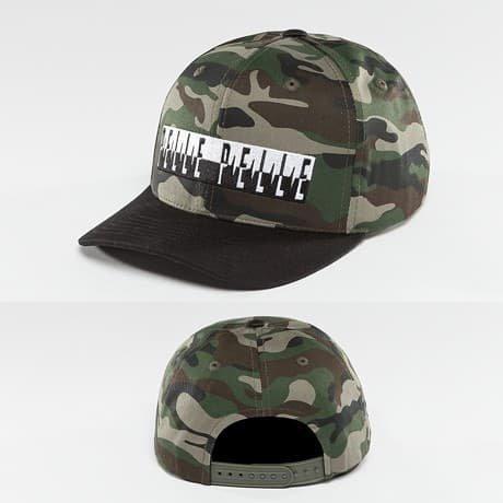 Pelle Pelle Snapback Lippis Camouflage
