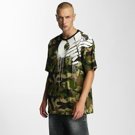 Pelle Pelle T-paita Camouflage
