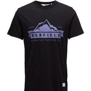 Penfield Mountain Logo T Shirt lyhythihainen t-paita