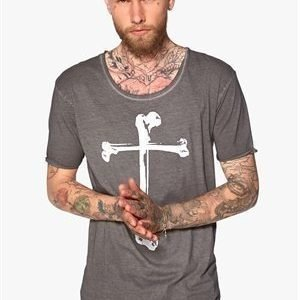 Peoples Uniform Bones Tee Grey