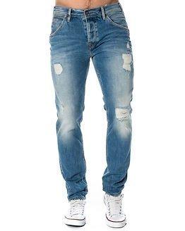 Pepe Jeans Flint Destroyed Light Blue Denim