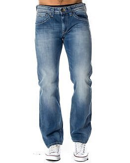 Pepe Jeans Kingston Straight Leg Zip Blue