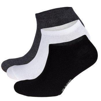 Pepe Jeans Men Brett Trainer Liners Socks 3 pakkaus