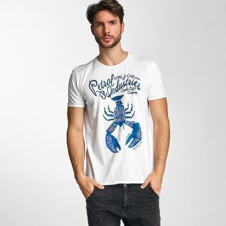 Petrol Industries T-paita Valkoinen