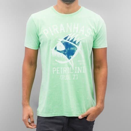 Petrol Industries T-paita Vihreä