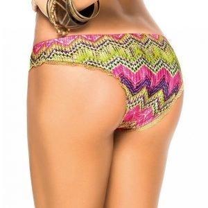 Phax Bikinihousut Joissa Kullanväristä Pitsiä