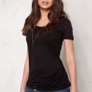 Pieces Brigita Tee Black