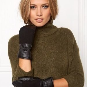 Pieces Emira Leather Black