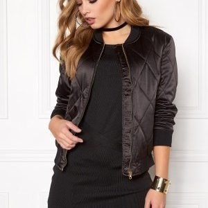 Pieces Haley Bomber Jacket Black