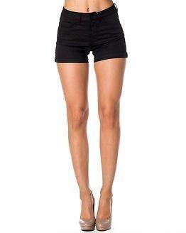 Pieces Just Jute R.M.W. Shorts Black