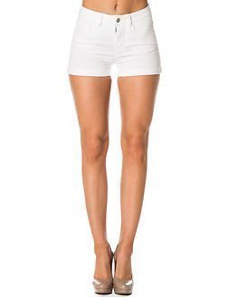 Pieces Just Jute R.M.W. Shorts White