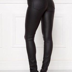 Pieces Just New Coat Leggings Black