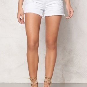 Pieces Just Trish shorts Bright White