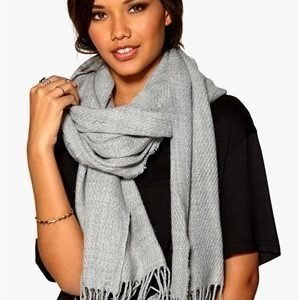 Pieces Kial Long Scarf Light Grey Melange