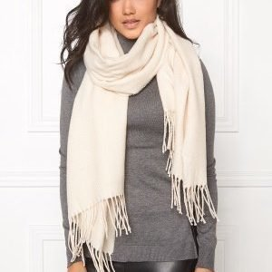 Pieces Kial Long Scarf Whitecap Gray